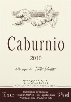 Etichetta-Caburnio-2010-250x321px